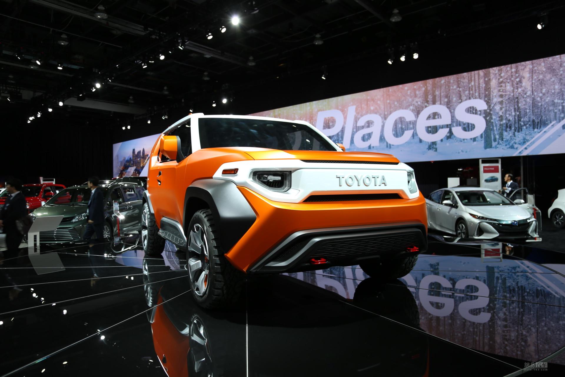 越野风格浓厚 丰田FT-4X概念车再次亮相
