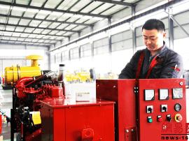 山东赛马力 发电机组控制系统的研发生产和销售
