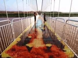 广东首座3D玻璃桥开放!广州出发不到1小时