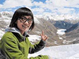 山西80后女孩 放弃出国9年援藏做导游