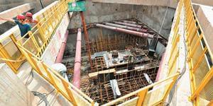 探访太原地铁施工现场:大工程 小细节