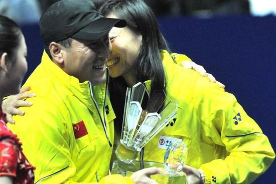33岁的张宁在北京奥运会夺冠
