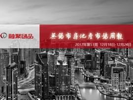 融聚周刊:2017年第51周无锡市房地产市场周报