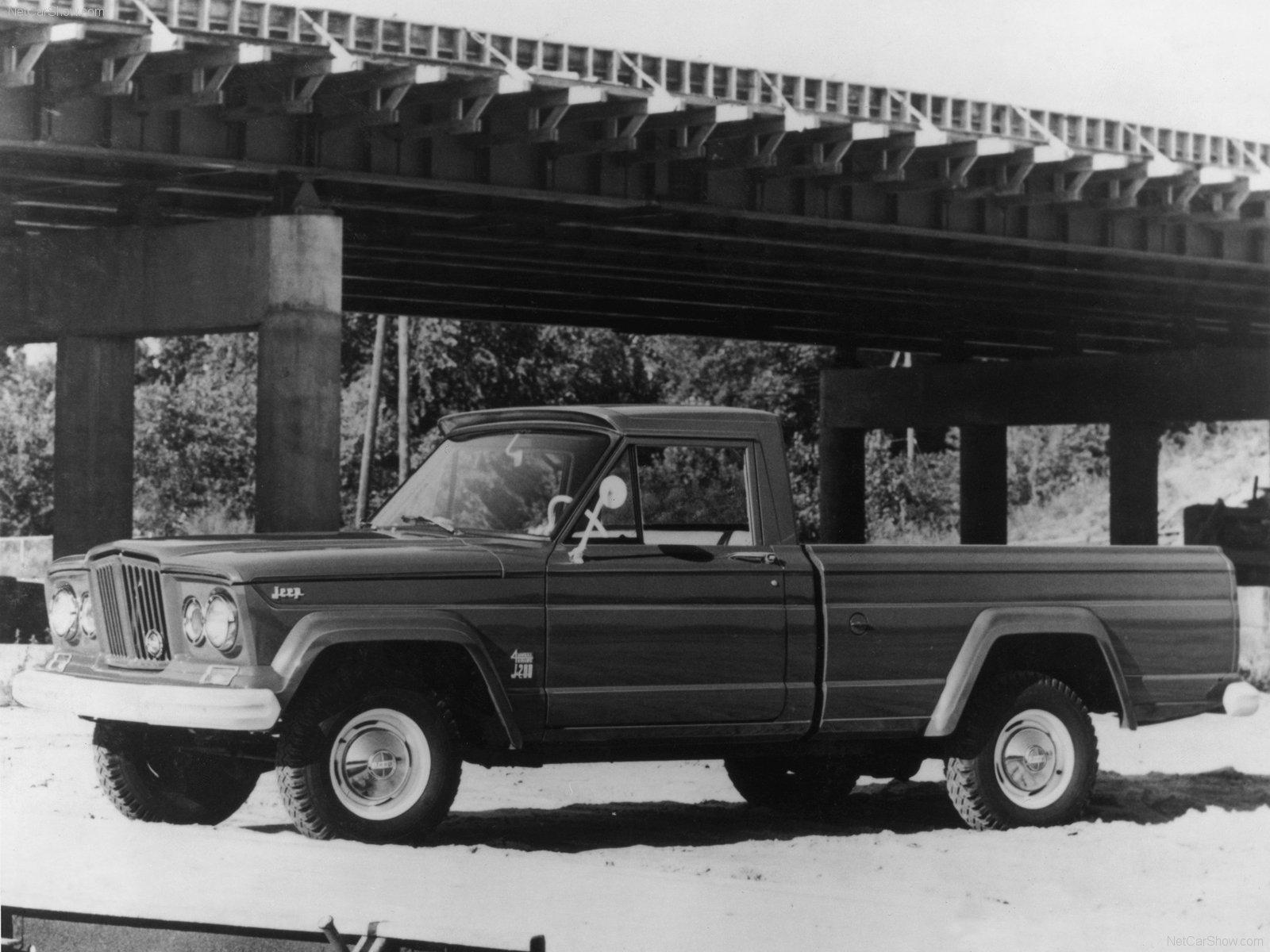 ↑↑↑1962版Jeep角斗士  ↓↓↓2005年Jeep Gladiator Concept