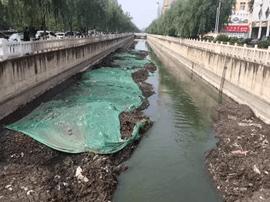 运城市民呼吁:加快姚暹渠清淤 还居民一个清洁环境