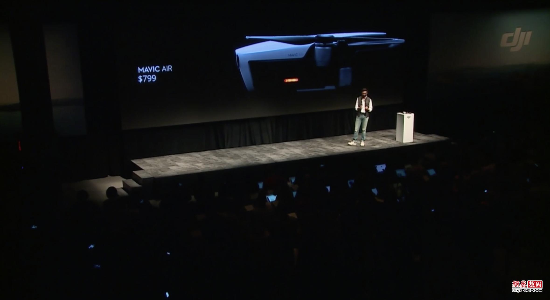 "大疆发布""御""Mavic Air无人机:4999元起售"