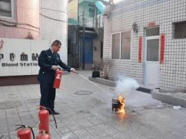 大同市中心血站开展2017年春季消防安全知识培训