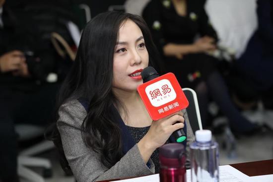侨外集团副总裁朱晓轩女士