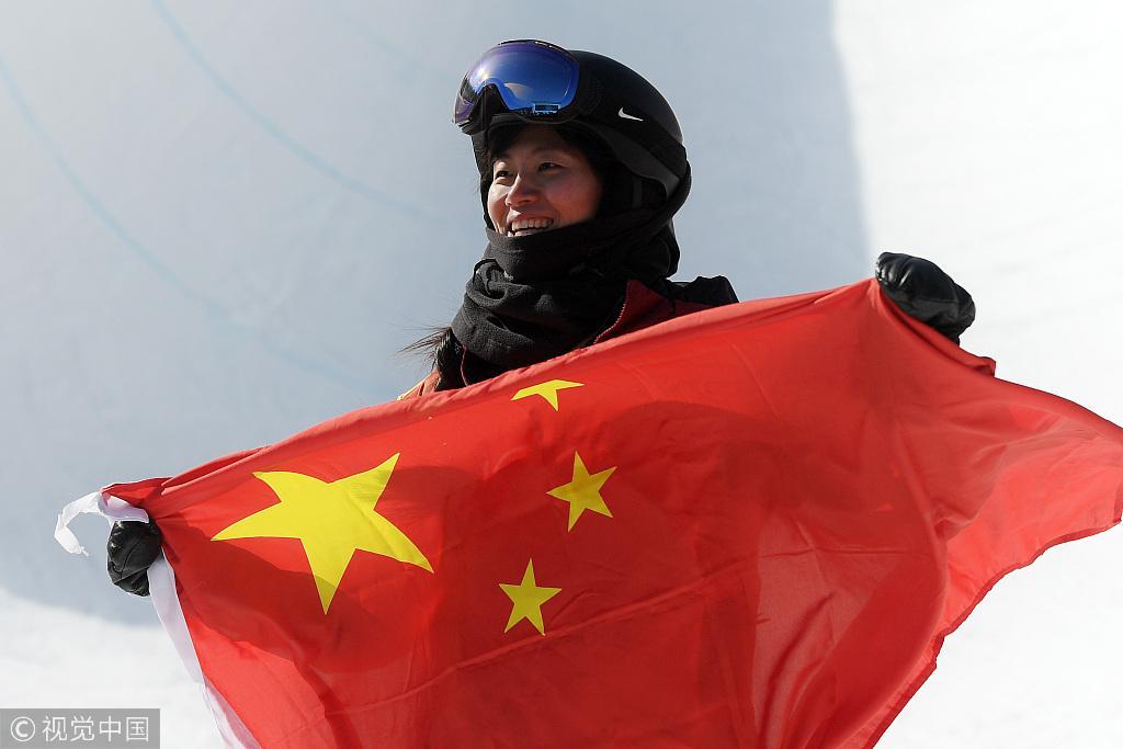 四届冬奥终迎重大突破 刘佳宇无愧中国单板第一人