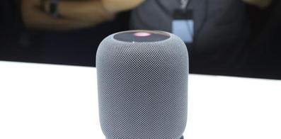 苹果智能音箱HomePod发布