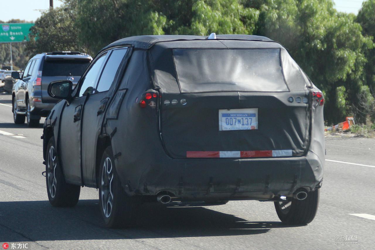 设计很美式 全新一代丰田RAV4下半年发布