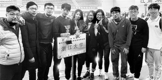 浙大游泳队获三项全国冠军 都是学霸高考分数超700