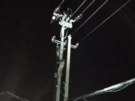 一电线凌晨突然着火 殃及5个村和70户养殖户