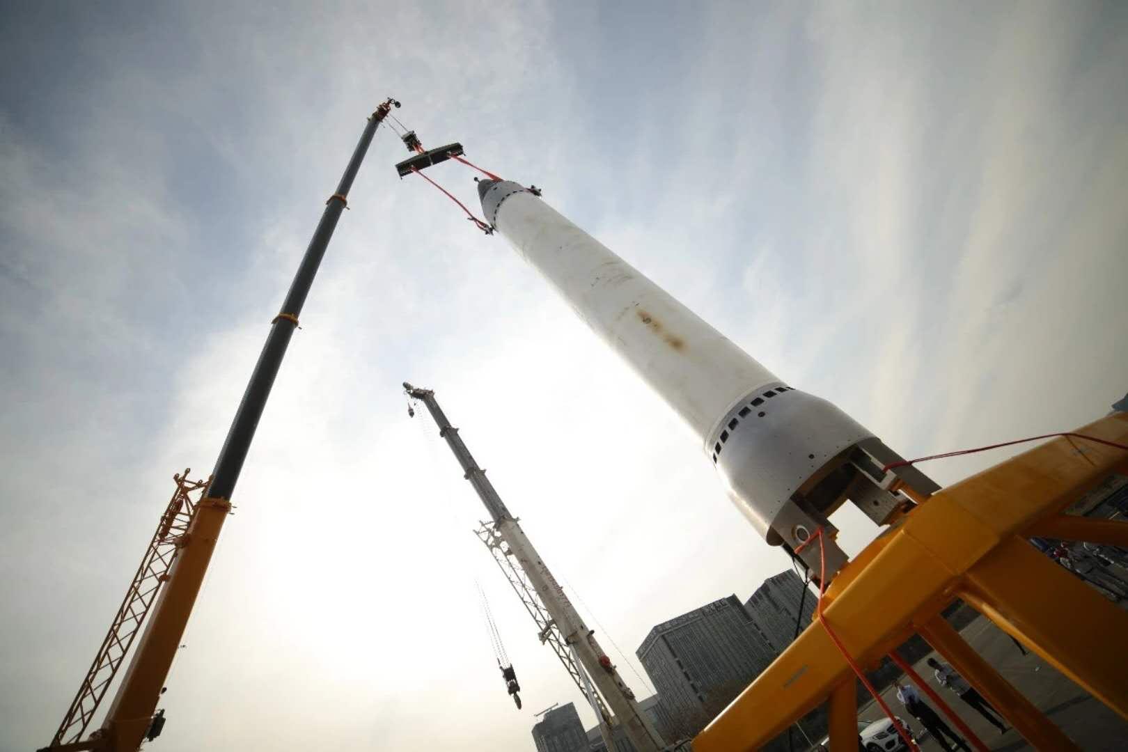 中国首枚民营亚轨道火箭重庆两江之星首飞成功