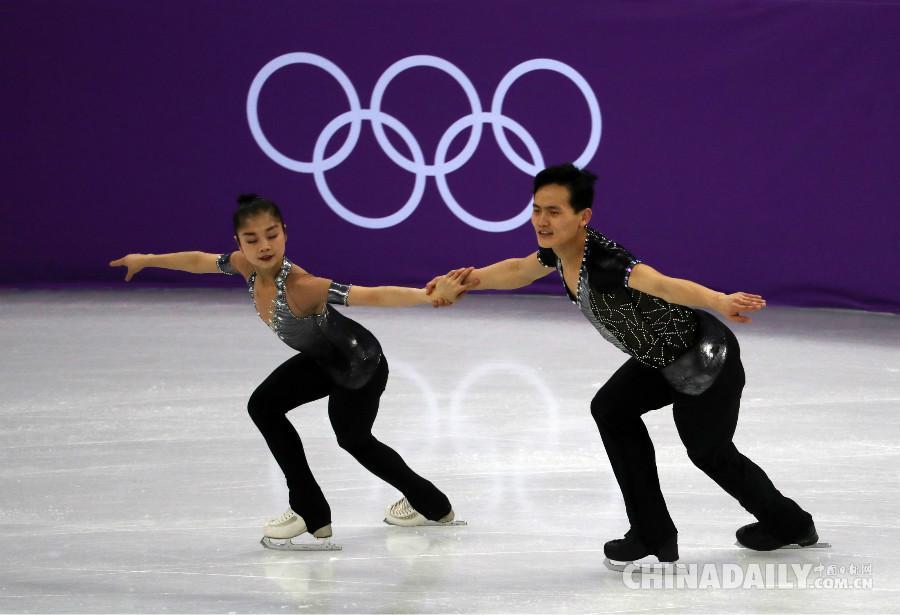 朝鲜双人滑初登冬奥赛场光芒四射 教练:潜力大