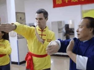 外国人到南沙学永春 师傅:有老外1个月学3套拳法