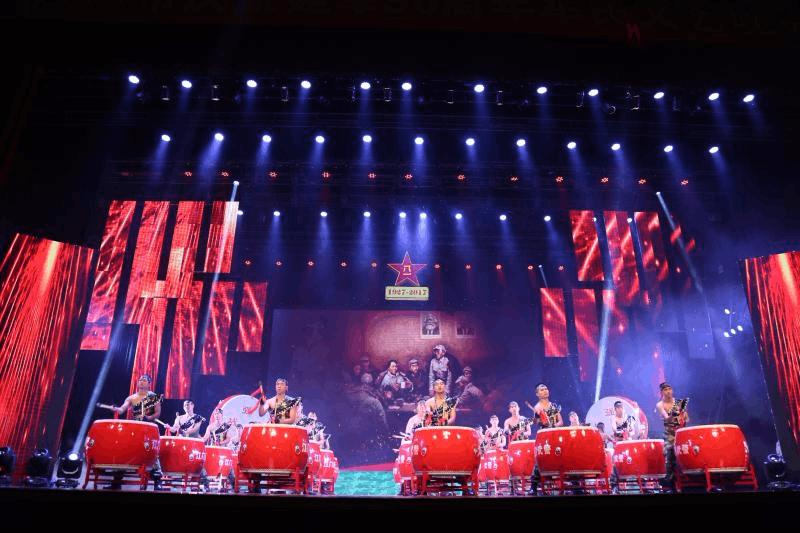 庆祝建军90周年 江门市举行盛大军民文艺晚会
