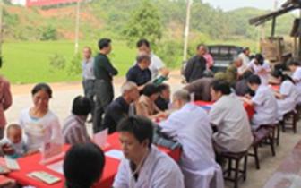 通城关刀镇卫生院组织开展免费体检进村活动