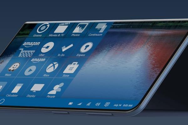 这款概念版Surface Phone也可以折