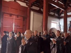 五台山全山各大寺院举行丁酉年盂兰盆法会
