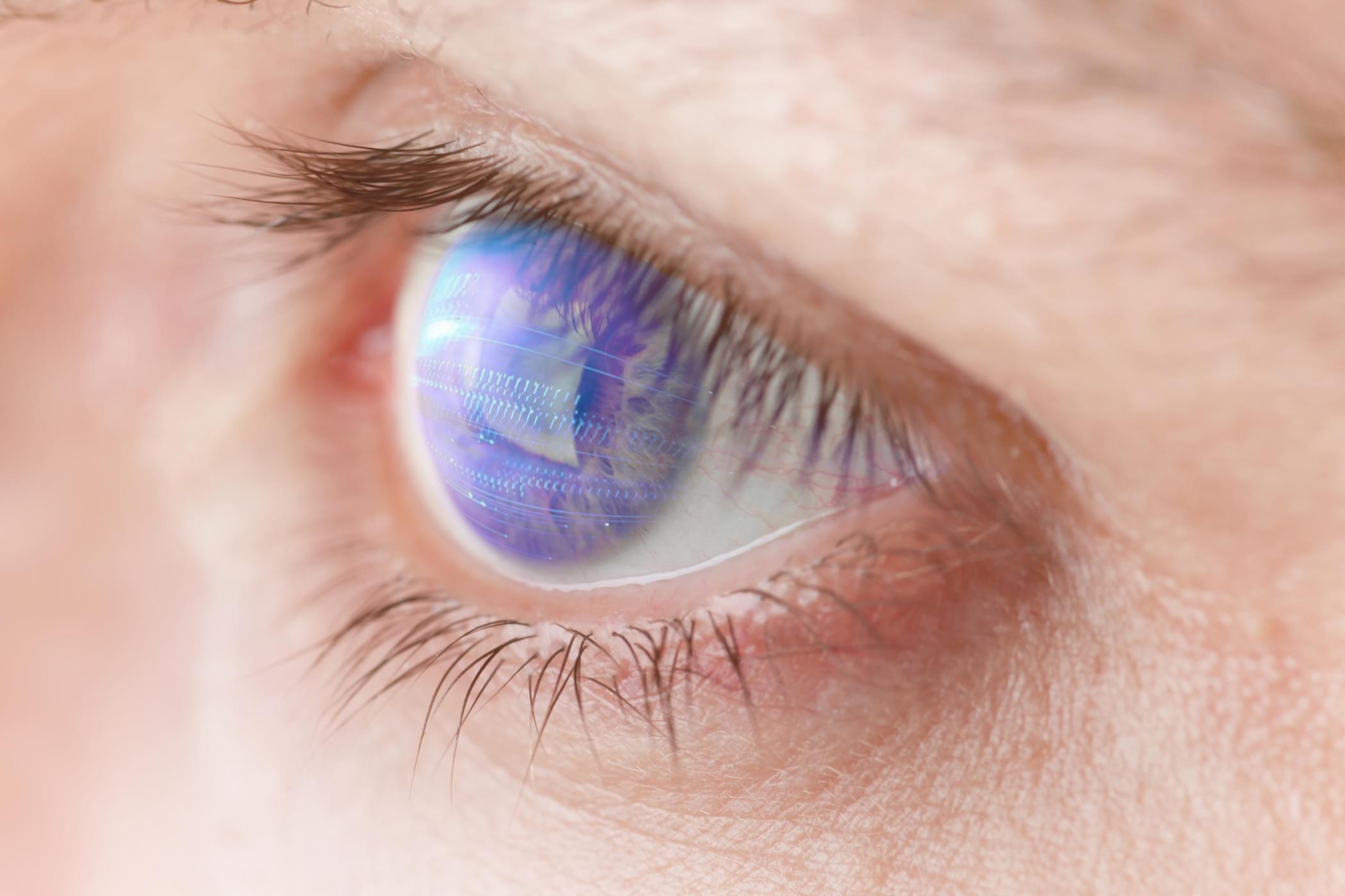 """""""机械眼""""想象图。"""