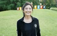 英拉现身泰国公园跑步