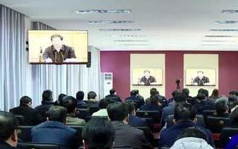 卢氏县长张晓燕就做好当前重点工作提出严要求