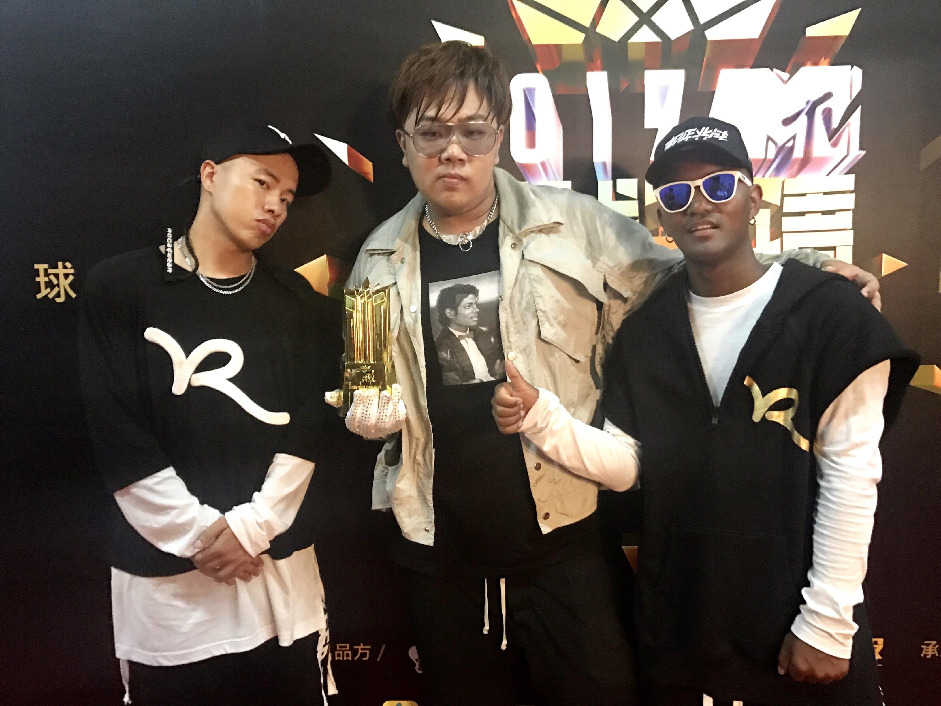 南征北战NZBZ荣获MTV音乐盛典最佳原创组合