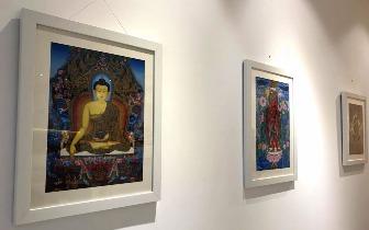 尼泊尔国家佛造像、唐卡艺术精品展在厦开幕
