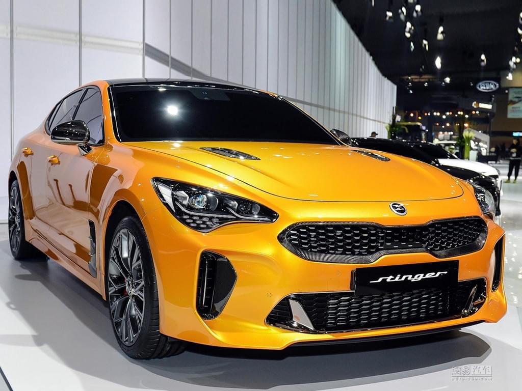 Stinger搭全新车标 起亚将推高端子品牌?