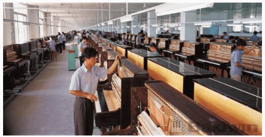 探寻美国钢琴工业 不一样的鲍德温中山工厂