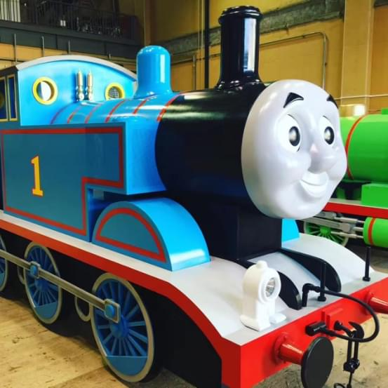 舞台版托马斯小火车漂洋过海 亮相中国