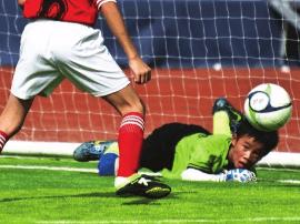 青岛中小学生今年可足球考级 校园足球立体格局形成