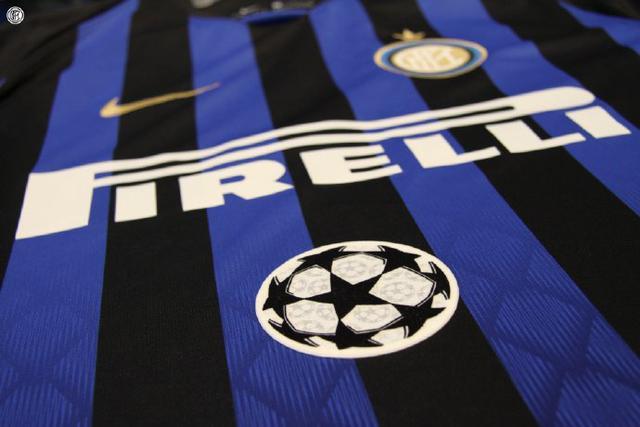 时隔6年再征欧冠,国米发布下赛季欧冠球衣