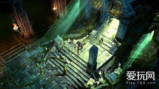 游戏的各种光影让人眼前一亮