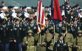 美国暂定今年退伍军人节在华盛顿举行阅兵式
