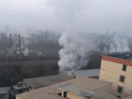 三门峡灵宝一公司发生硫酸泄露 现场无人员伤亡