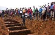 塞拉利昂安葬遇难者遗体