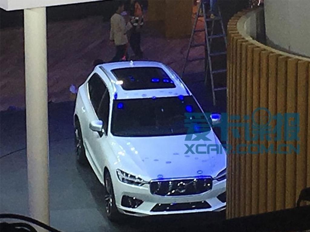 国产版年内上市 沃尔沃全新XC60展前现身