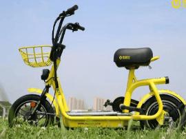 共享电单车,觅马M1车型,至简流线设计,大坐垫,安全