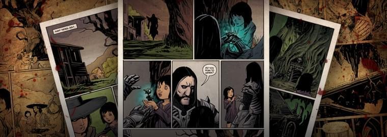暗黑3首部死灵法师主题漫画:天选之人
