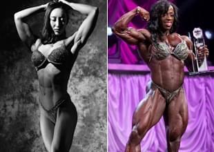 中国美女获健美冠军