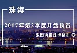 2017年第2季度珠海楼市开盘预告