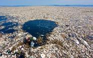 """罗阿坦岛现""""塑料海洋"""""""