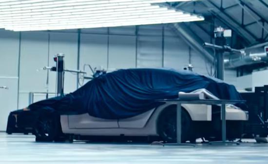 特斯拉发官方宣传视频:新车Model Y一闪而过?[多图
