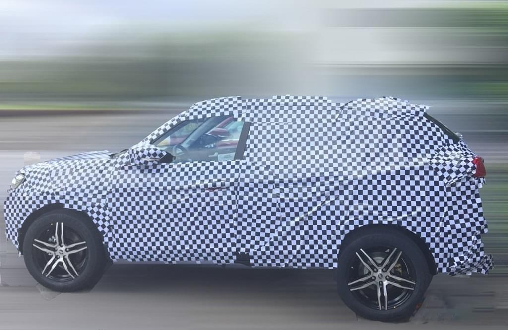 定位小型SUV/年内推出 力帆CY02C谍照曝光