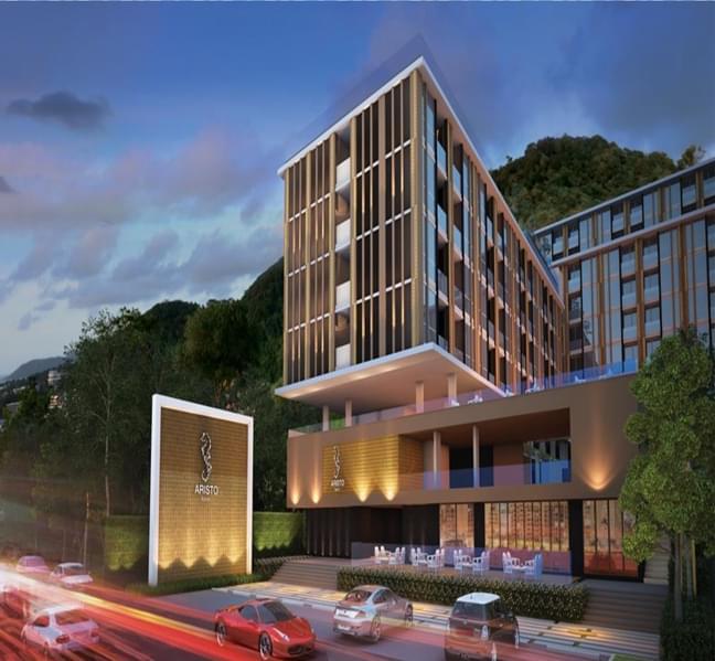 普吉海滩公寓 三年包租 年回报8%