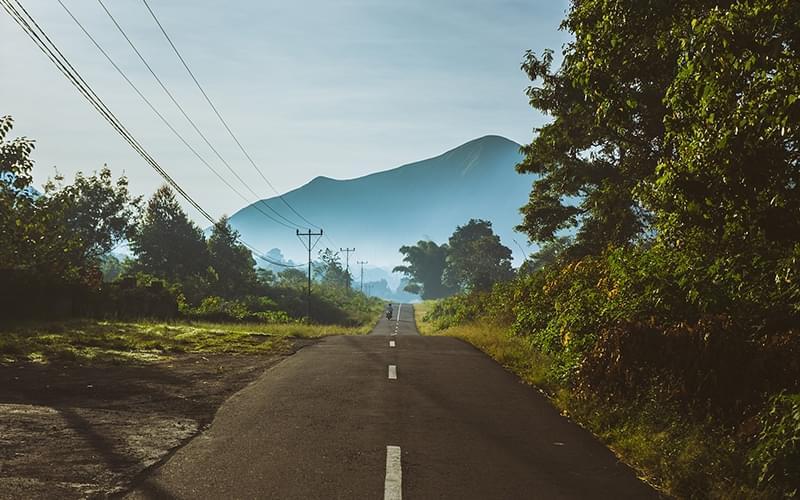 我的印度尼西亚之旅开始了。