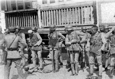 南京保卫战,这支广东部队差点打死天皇叔叔