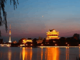 市领导调研 海纪馆与凤城河